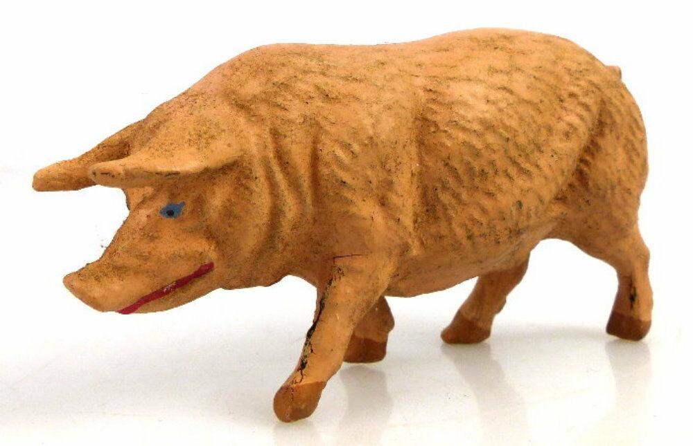 Altes Masse Lineol Tier Hausschwein Schwein 1