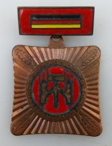 Abzeichen: Brigade der sozialistischen Arbeit vgl. Band I Nr. 74b, Orden1116