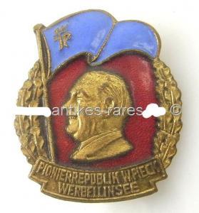 DDR Medaille Pionierrepublik Wilhelm Pieck Orden129