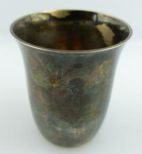 Original alter Schnapsbecher /Wodkabecher aus 925 (Ag) Silber e711