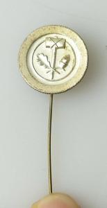 Ehrennadel PGH Silberfarben vgl. Band X Nr. 582 r223