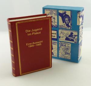 E11293 Minibuch Die Jugend im Plakat Eine Auswahl 1945 bis 1985 überreicht