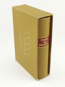 E11292 Minibuch Früchte des Bündnisses Dietz Verlag Berlin 1987