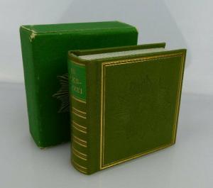 Minibuch Zollverwaltung der deutschen demokratischen Republik mit Beilage bu0301