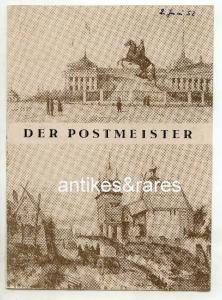 Opernheft: Der Postmeister von Alexander Puschkin TOP
