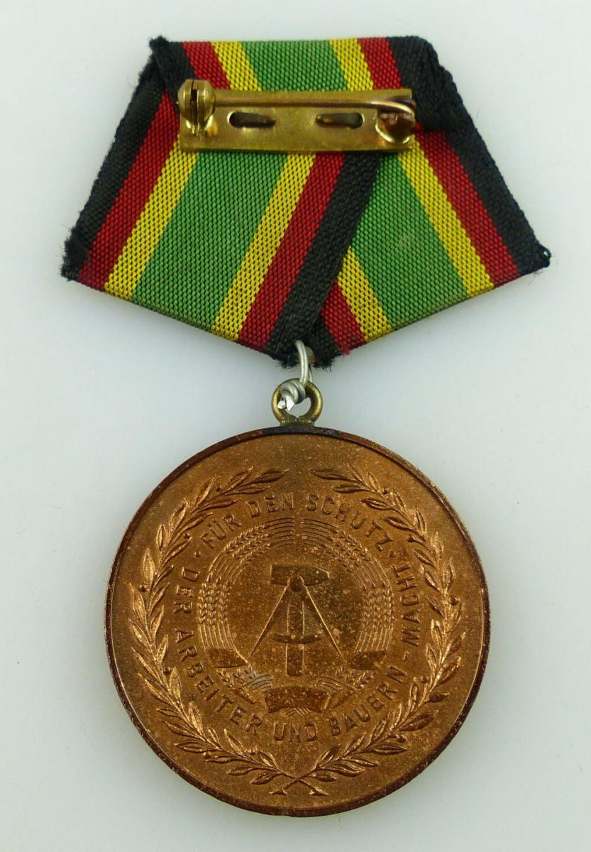 Medaille Für Treue Dienste NVA in Bronze + Urkunde 1957 verliehen, Orden3158 5