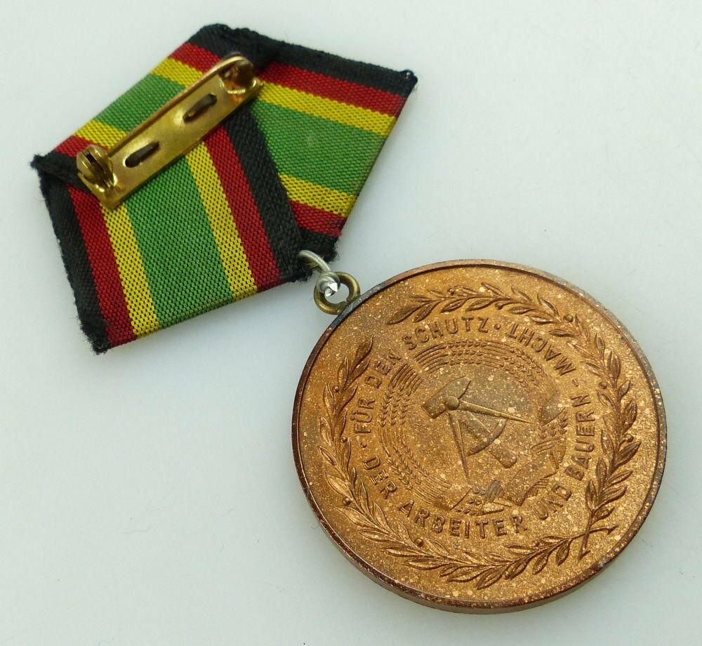 Medaille Für Treue Dienste NVA in Bronze + Urkunde 1957 verliehen, Orden3158 6