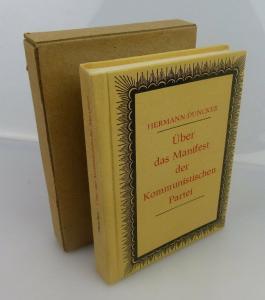 Minibuch: über das Manifest der kommunistischen Partei Hermann Duncker bu0636