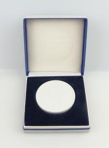 E11318 Meissen Medaille mit Etui VEB Papierfabrik Greiz DDR