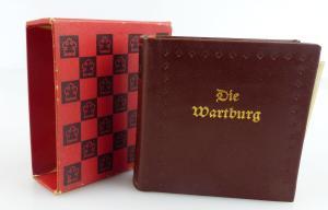 Minibuch: Die Wartburg,  Union Verlag Berlin 1984 /r131