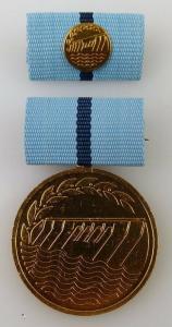 Medaille für hervorragende Leistungen in der Wasserwirtschaft Nr. 267b Orden2296