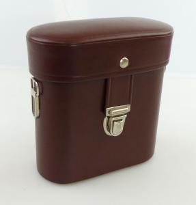 B47 Neue Fernglastasche Köcher Tasche für Fernglas braun Außenmaße 14x13x6 cm