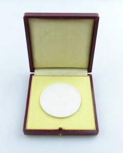 E11342 Meissen Medaille Cecilienhof Gedenkstätte des Potsdamer Abkommens