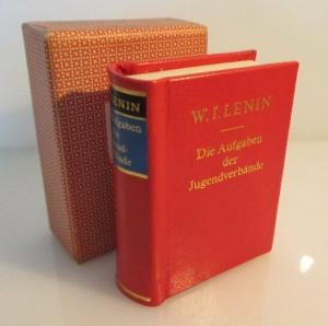 Minibuch: W.I. Lenin Die Aufgaben der Jugendverbände bu0134