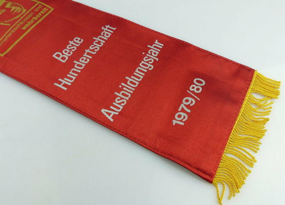 Fahnenschleife: GST Soz. Wettbewerb Ausbildungsjahr 1979/80 Beste Hun, Orden2817 1