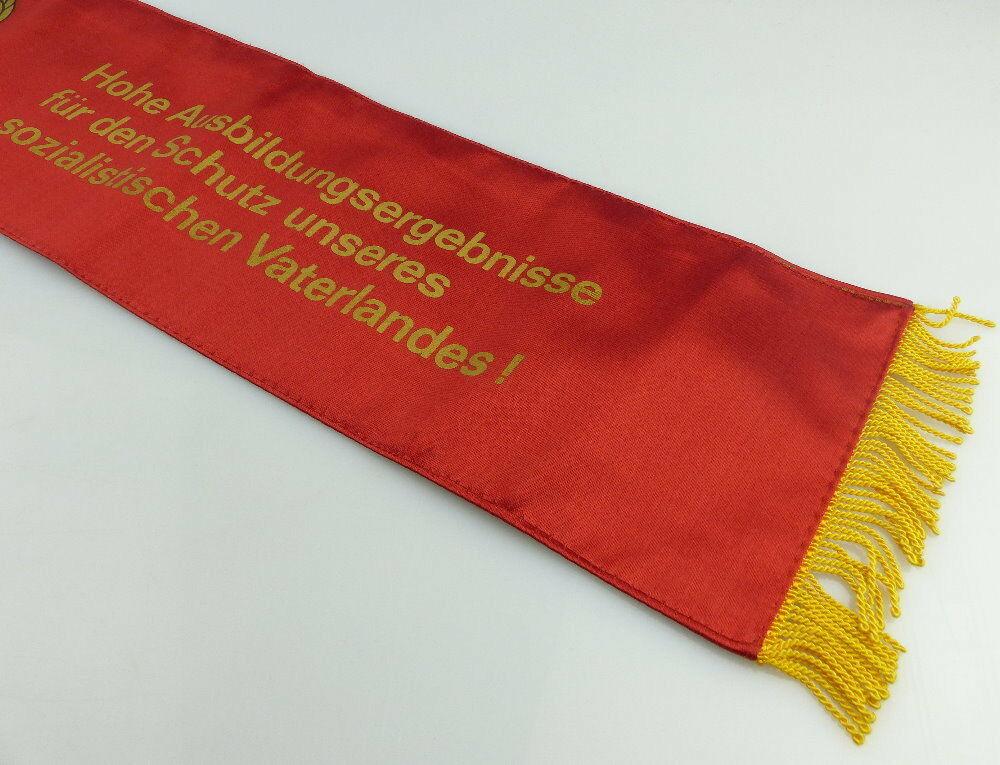 Fahnenschleife: GST Soz. Wettbewerb Ausbildungsjahr 1979/80 Beste Hun, Orden2817 4