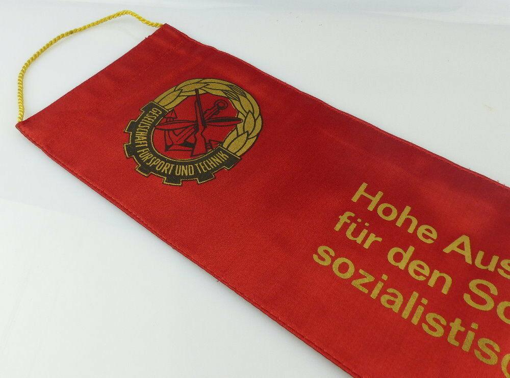 Fahnenschleife: GST Soz. Wettbewerb Ausbildungsjahr 1979/80 Beste Hun, Orden2817 5