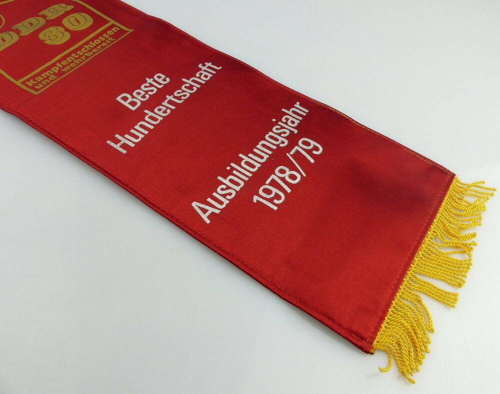 Fahnenschleife GST Soz. Wettbewerb Ausbildungsjahr 1978/79 Beste Hun, Orden2816 1