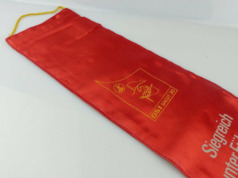 Fahnenschleife: GST Soz. Wettbewerb Ausbildungsjahr 1975/76 Ausgezeic, Orden2815 2