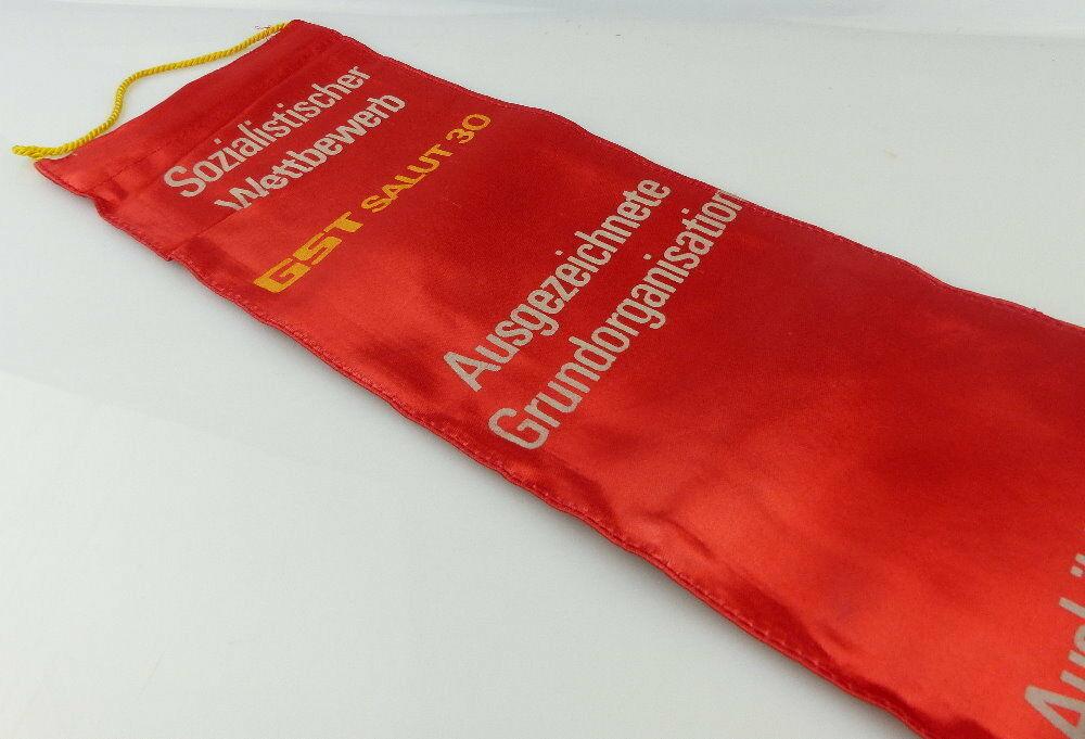 Fahnenschleife: GST Soz. Wettbewerb Ausbildungsjahr 1975/76 Ausgezeic, Orden2815 5
