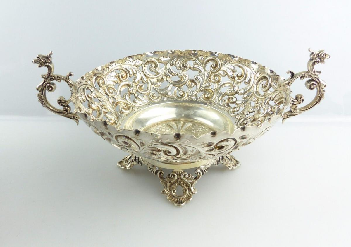 #e4920 Englische Schale aus 925er Silber aus London Mappin & Webb 0