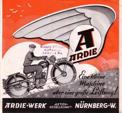 Ardie S 125 Prospekt 1939 0