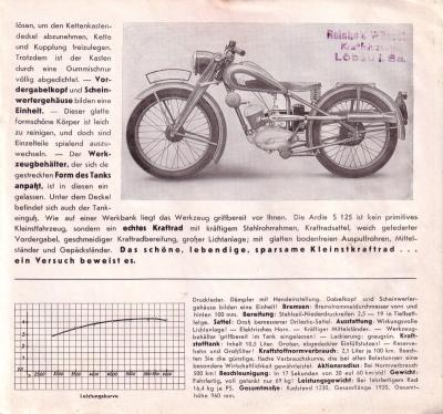 Ardie S 125 Prospekt 1939 2
