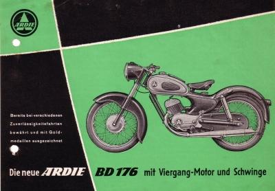 Ardie BD 176 Prospekt 10.1954