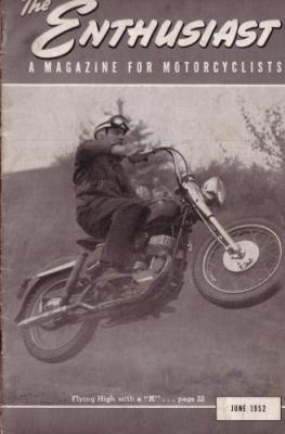 Harley-Davidson Enthusiast 1952 : 6