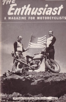 Harley-Davidson Enthusiast 1954 : 12 0