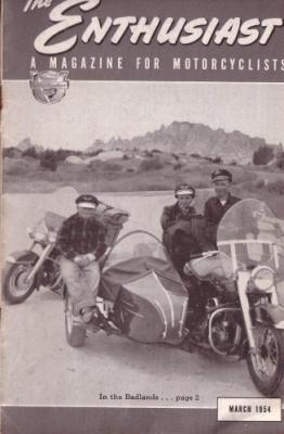 Harley-Davidson Enthusiast 1954 : 3