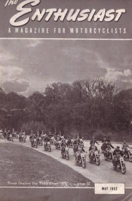 Harley-Davidson Enthusiast 1952 : 5