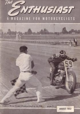 Harley-Davidson Enthusiast 1952 : 8