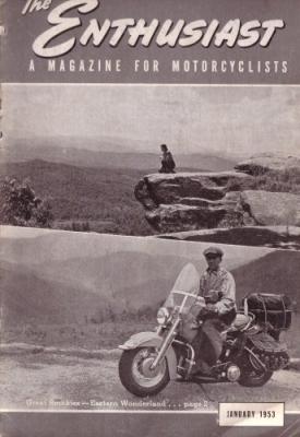 Harley-Davidson Enthusiast 1953 : 1