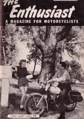 Harley-Davidson Enthusiast 1954 : 6