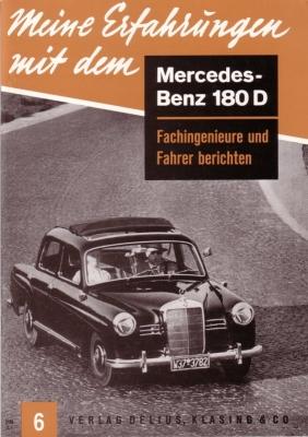Delius/Klasing Heft 6 Meine Erfahrungen mit dem Mercedes-Benz 180 D