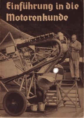 Merkle, Franz Einführung in die Motorenkunde ca. 1940