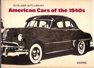 American Cars of the 1940s 1972