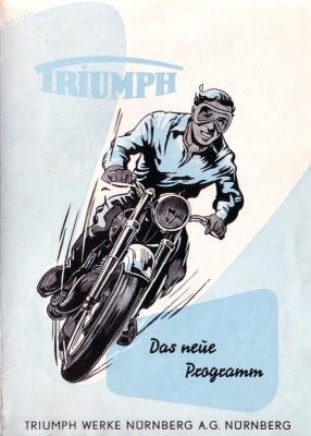 Triumph Programm 1954