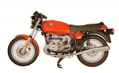 BMW R 65 Aufsteller ca. 1980
