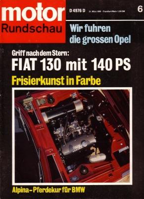 Motor Rundschau 1969 Heft 6