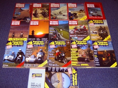 Tourenfahrer / Motorrad-Reisen 1981-2003