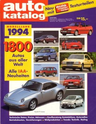 Auto Katalog 1994 Nr.37