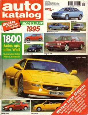 Auto Katalog 1995 Nr.38