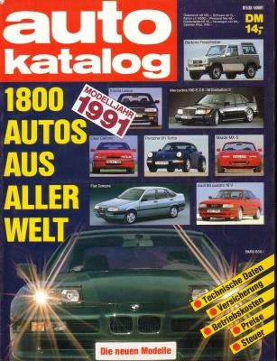 Auto Katalog 1991 Nr.34