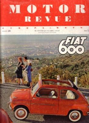 Motor Revue Nr.28 4.1958