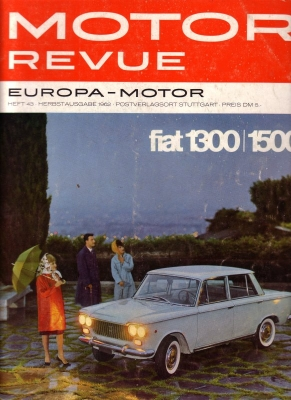 Motor Revue Nr.43 3.1962