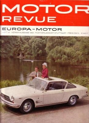 Motor Revue Nr.47 3.1963