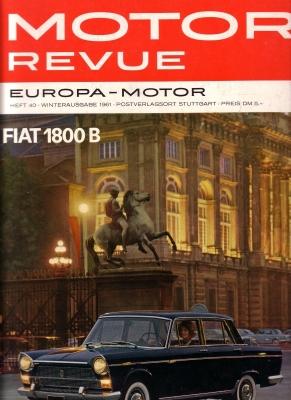 Motor Revue Nr.40 4.1961