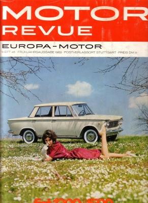 Motor Revue Nr.45 1.1963